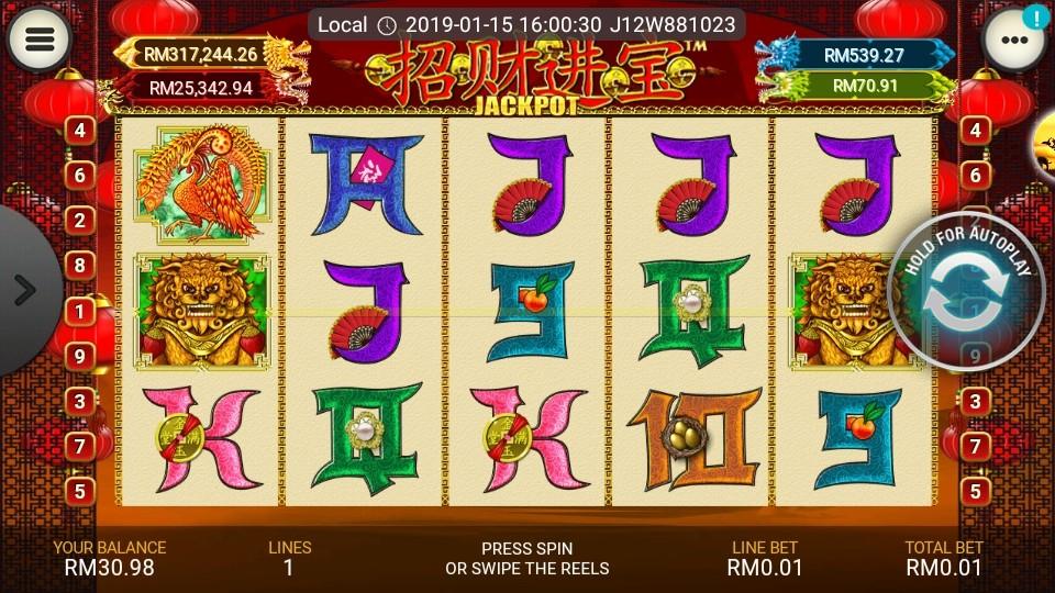 Tips free zhao cai jin bao jackpot slots bolt video uno